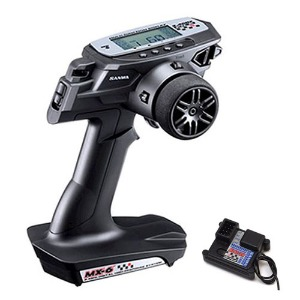하비몬MX-6 FH-E 3-Channel 2.4GHz Radio System w/RX-391W Receiver[상품코드]SANWA
