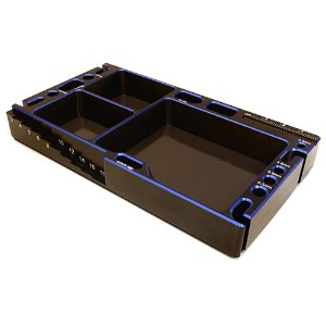 하비몬[#C27180BLUE] Universal Workbench Organizer 145x80x20mm Workstation Tray (Blue)[상품코드]INTEGY