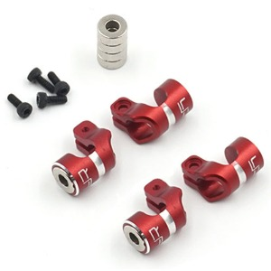 하비몬Aluminum Magnetic Body Hole Marker Red For 6mm Bodyposts[상품코드]YEAH RACING