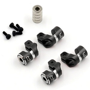 하비몬Aluminum Magnetic Body Hole Marker Black For 6mm Bodyposts[상품코드]YEAH RACING