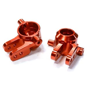하비몬Billet Machined Steering Knuckles for Traxxas 1/10 Stampede 4X4, Slash 4X4 & Rustler 4X4 (Red)[상품코드]INTEGY
