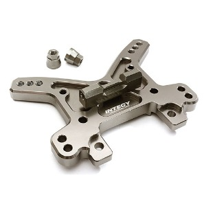 하비몬Billet Machined Front Shock Tower for Losi 1/5 Desert Buggy XL-E (Grey)[상품코드]INTEGY