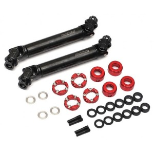 하비몬[#BRBD955003-BR1] BADASS™ HD Steel Center Drive Shaft Set for Boom Racing D90/D110 Chassis Front & Rear (2) [Recon G6 Certified] for D90/D110 Chassis[상품코드]BOOM RACING