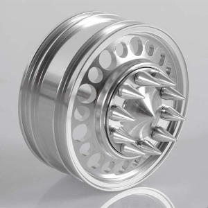 "하비몬[#Z-W0154] [2개] Choas 1.7"" Semi Truck Front Wheels w/Spiked Caps[상품코드]RC4WD"