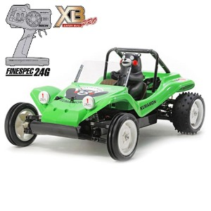 하비몬1/10 Buggy Kumamon Version XB - Green Edition (DT02)[상품코드]TAMIYA