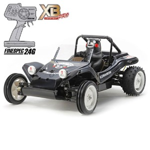 하비몬1/10 Buggy Kumamon Version XB - Black Edition (DT02)[상품코드]TAMIYA