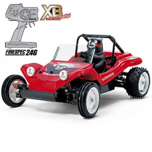 하비몬1/10 Buggy Kumamon Version XB - Red Edition (DT02)[상품코드]TAMIYA