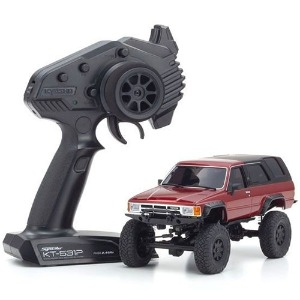 하비몬[#KY32522MR-B] 1/24 MINI-Z 4x4 MX-01 Readyset - Toyota 4Runner (Hilux Surf) Metallic Red[상품코드]KYOSHO