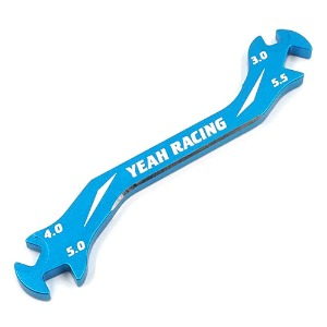 하비몬Aluminum 7075 Turnbuckle Wrench 3mm4mm 5mm 5.5mm Blue[상품코드]-