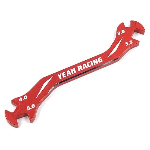 하비몬Aluminum 7075 Turnbuckle Wrench 3mm4mm 5mm 5.5mm Red[상품코드]-
