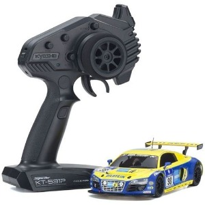 하비몬[#KY32329BT-B] 1/27 MR-03 RWD Series Ready Set Audi R8 LMS Phoenix Racing NBR 2010 #98[상품코드]KYOSHO