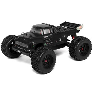 하비몬[#ARA106044T1] 1/8 Notorious 6S BLX Brushless RTR 1/8 Monster Stunt Truck (Black)[상품코드]ARRMA