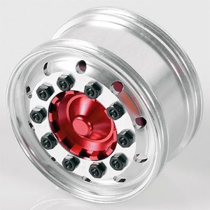 하비몬[#VVV-S0067] [2개] Ice Trucking Semi Truck Front Wheels (Pair)[상품코드]RC4WD