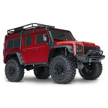 하비몬[#CB82056-4-RED] 1/10 TRX-4 Scale & Trail Defender Crawler 4WD RTR (Red)[상품코드]TRAXXAS