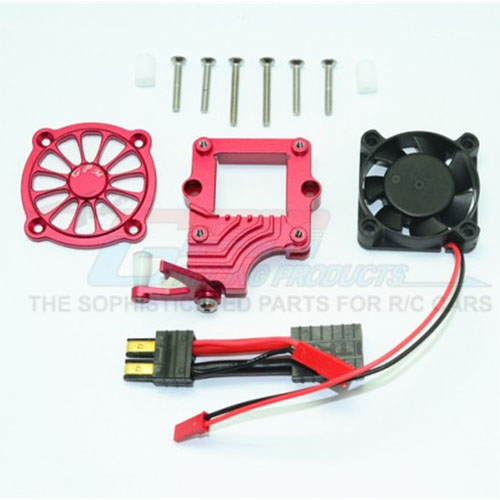 하비몬[#TRX4051FAN-R] TRX-4 Alum. Motor Cooling Fan w/Easy Switch[상품코드]GPM