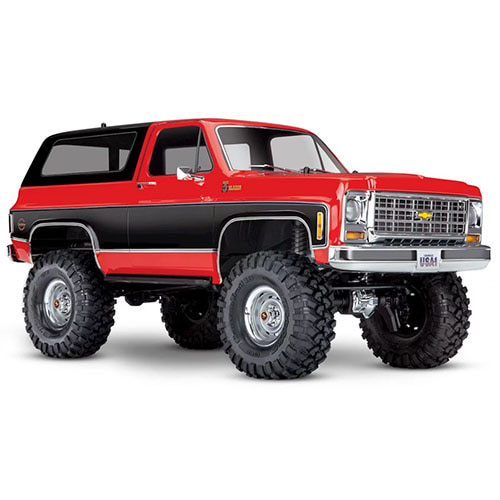 하비몬[#CB82076-4-RED] 1/10 TRX-4 Trail Crawler Truck w/'79 Chevrolet K5 Blazer Body (Red)[상품코드]TRAXXAS