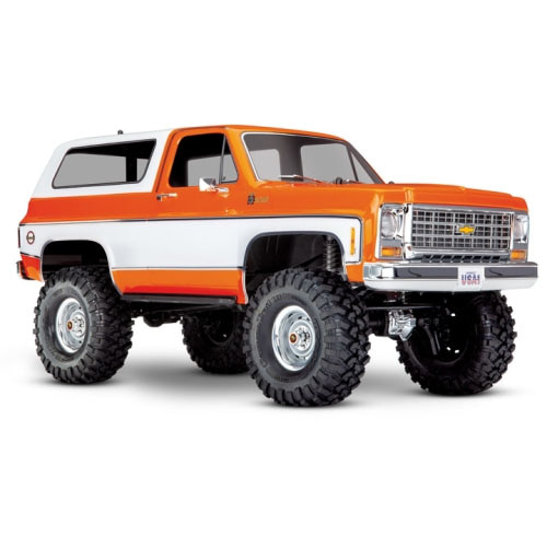 하비몬[#CB82076-4-ORNG] 1/10 TRX-4 Trail Crawler Truck w/'79 Chevrolet K5 Blazer Body (Orange)[상품코드]TRAXXAS