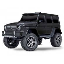 하비몬[#CB82096-4-BLK] 1/10 TRX-4 Trail Crawler Truck w/Mercedes G500 4x4² Body (Black)[상품코드]TRAXXAS