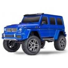 하비몬1/10 TRX-4 Trail Crawler Truck w/Mercedes G500 4x4² Body (Blue)[상품코드]TRAXXAS