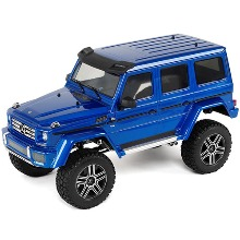 하비몬[#CB82096-4-BLUE] 1/10 TRX-4 Trail Crawler Truck w/Mercedes G500 4x4² Body (Blue)[상품코드]TRAXXAS