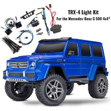 하비몬[#CB82096-4-BLUE-LED] [마지막1대 - LED 키트 #8898 포함] 1/10 TRX-4 Trail Crawler Truck w/Mercedes G500 4x4² Body (Blue)[상품코드]TRAXXAS