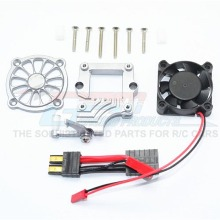 하비몬[#TRX4051FAN-GS] TRX-4 Alum. Motor Cooling Fan w/Easy Switch[상품코드]GPM